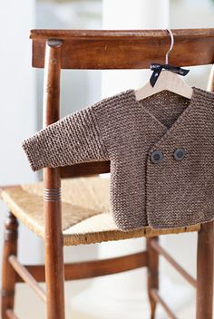 Easy Peasy Baby Jacket - link to the pattern