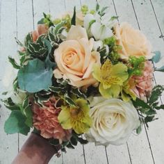 Bouquet made by Vackrablomsterochting