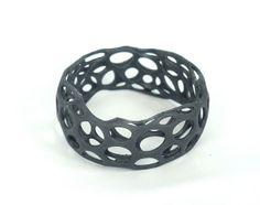 3D print jewelry - 3D printed bracelet with Kudo3D Titan 1 SLA 3D printer…