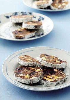 RESEP: Paasfees-sjokolade-salami   via Landbouweekblad #AllesOpEenPlek