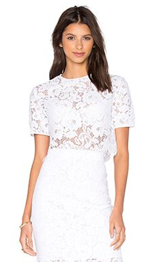 Shop for Lover Oasis Crop Top in White at REVOLVE. Free 2-3 day shipping and returns, 30 day price match guarantee.