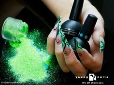Young Nails Gel - sondrea's signature styles salon and spa - ethnic african american - nails - manicure - el paso texas.jpg