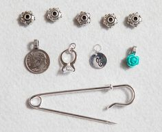 Old new borrowed blue pin