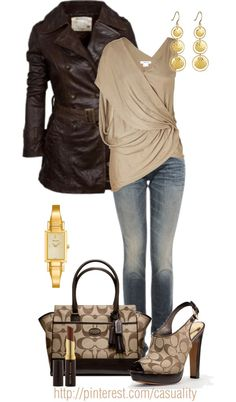 """Coach Bag & Shoes"" by casuality on Polyvore"