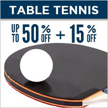 Upto 50% off on table tennis from Sports365.in #sportsgoods #tabletennis #rackets #racquets