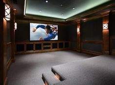 Home Theater Design Ideas, Pictures, Remodel, and Decor - page 33