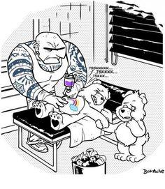 Care Bears are hard.