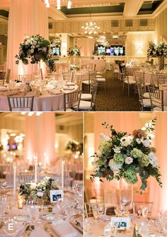 floral multiples, taper candle decor, vanity mirrors #fleurtaciousdesigns -Elario Photography