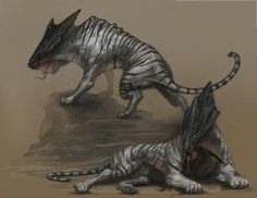 Think this could fit into the BPRD world somehow if we ever needed a monster? Alien Concept Art, Creature Concept Art, Fantasy Monster, Monster Art, Alien Creatures, Mythical Creatures, Creature Drawings, Animal Drawings, Creature Feature