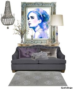 """Fabulous Furnishings ~ Artful Interiors 6"" by eyesondesign on Polyvore"