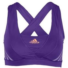 adidas Supernova Racer Bra - Women's - Running - Clothing - I have this in yellow. My fave bra Best Running Shorts, Running Workouts, Running Gear, Yoga Workouts, Workout Attire, Workout Wear, Workout Outfits, Workout Tanks, Fitness Fashion