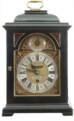 antique clocks | Bracket Clock - David Hubert of London.