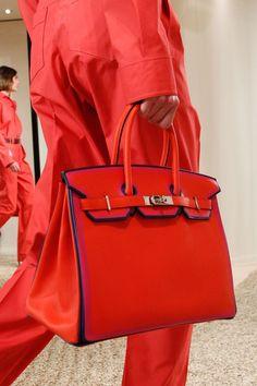 Hermes - Resort 2018. Red Birkin bag.