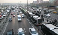 Istanbul BRT - Bus Bunching