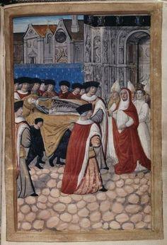 A la découverte d'Anne de Bretagne : Les Funérailles d'Anne de Bretagne