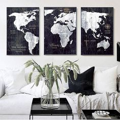 hottest snap shots newest photo world map bedroom canvas art style funny crafts me World Map Canvas, World Map Wall Art, World Map Decor, Canvas Artwork, Canvas Wall Art, Canvas Prints, Canvas Paintings, World Map Bedroom, World Map Poster