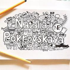 Doodle by NataliaPokrovskaya.deviantart.com on @deviantART