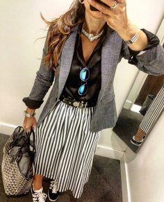 Blazer Outfits, Casual Outfits, Fashion 2017, Womens Fashion, Outfit Goals, Office Outfits, Casual Looks, What To Wear, Autumn Fashion