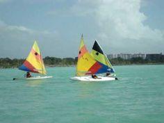 Sunfish Sailing in Dominican Republic