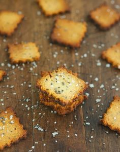 Cheesy Chia Seed Crackers-1 large free-range organic egg 2 tablespoons chia seeds  1 cup / 3.8 oz / 110 gr almond meal/flour  4 tablespoons grated Parmesan cheese 1/4  teaspoon fine grain sea salt ¼ teaspoon ground black pepper