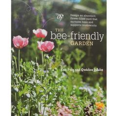 Learn how to attract honey bees and native bees to your gardens with helpful tips from The Bee Friendly Garden book | Montana Homesteader