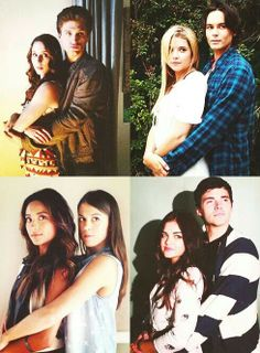 Pretty Little Liars I have a question why are the guys always taller than the girlfriends in pll and real life? Hanna Y Caleb, Hanna Marin, Best Tv Shows, Best Shows Ever, Favorite Tv Shows, Spencer Hastings, Pretty Little Liars Actrices, Spencer And Toby, Preety Little Liars