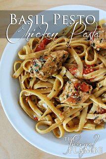 Basil Pesto Chicken Pasta