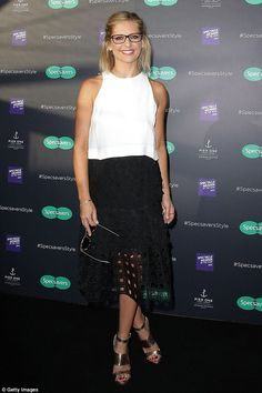 Buffy in Oz! Sarah Michelle Gellar stepped out in Sydney on Wednesday for the Specsavers Style event
