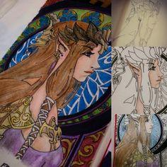Zelda Twilight process,  by Luis Marún