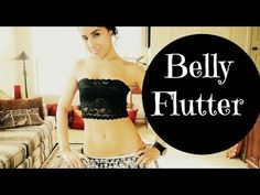 Learn to belly dance: how to do the belly flutter - YouTube