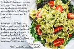 """Citation de """"5 Clés pour Bouffer la Bouffe de ta Bouffe""""."""