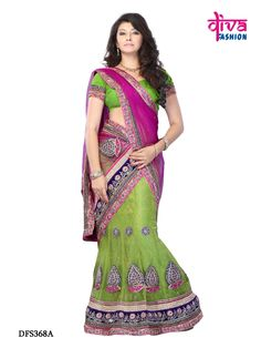 Buy designer lehenga choli online, India. At Divafashionsurat.com, you will find latest collection of designer lehengas, party wear sarees and many more for amazing discounts. Shop now @