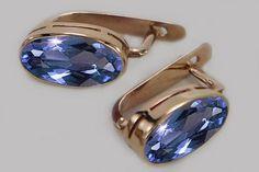 Ruby Jewelry, Ruby Earrings, Rose Gold Earrings, Stone Earrings, Small Earrings, Gold Plated Earrings, Gold Jewelry, Women Jewelry, Jewellery