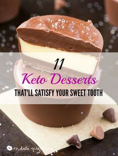 OMG! So this crazy diet called Ketogenic diet is just amazing! I had no idea you can eat so many delicious foods on it including desserts! For me I have a huge sweet tooth but now with this list I can eat them guilt free! I love that the sugar free and low card desserts are really tasty and cut my cravings. These Keto Diet dessert recipes are a huge hit! I can't wait to try them all!