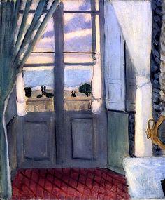 The Closed Window. Henri Matisse, 1918-19.