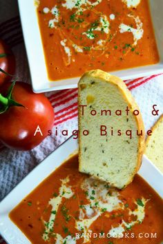 Tomato and Asiago Bisque: Winter Soups