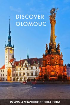 The Magnificent City of Olomouc in Moravia - Amazing Czechia 10 Interesting Facts, Exotic Places, Worldwide Travel, Bratislava, World Heritage Sites, Cool Places To Visit, Fun Facts, Travel Destinations, National Parks