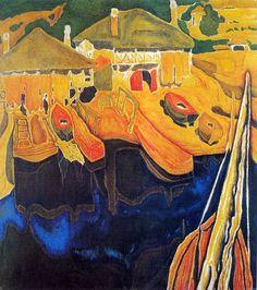 Αρσανάς στο Άγιον Όρος, 1935 Spyros Papaloukas [1892-1957]