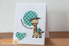 Gina K. Designs February 2016 Inspiration Blog Hop: Day 2 (Genevieve Giraffe
