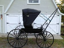 Antique Doctors Buggy - Horse Drawn Carriage - 1800's -