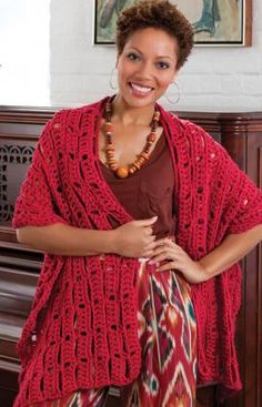 "Free pattern for ""Wrap-sody in Red""!"