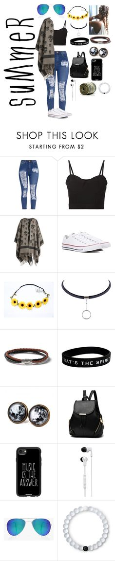 """Summer festival"" by skatergurl58 ❤ liked on Polyvore featuring Alexander Wang, Alexander McQueen, Converse, Topman, Casetify, Skullcandy, Boohoo and Lokai"