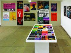 Ken Briggs exhibition installation, 2009. See Fraser Muggeridge's tribute to Briggs on the Eye blog, http://eyem.ag/LPprkW