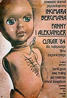 Polish poster interpretations of Fanny and Alexander by Ingmar Bergman