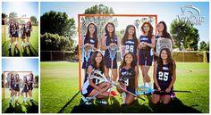 Girls Lacrosse Team Photos. Birmingham Community Charter High School. TepeSuz Photography