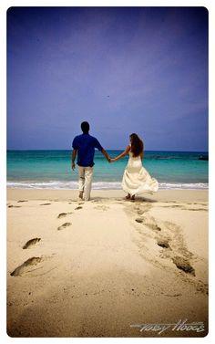 Beach Wedding Photo Shoot