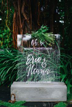 A Modern Alfresco Wedding With Monochromatic Shades - 007