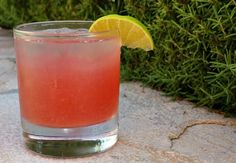 SEA BREEZE --  4 ounces grapefruit juice;   2 ounces cranberry juice;   1 1/2 ounces vodka;   lime wedge, for garnish -- Fill an 8 ounce glass halfway with ice cubes. Add grapefruit juice, cranberry juice and vodka. Give it a stir, garnish with a lime, and serve.  Alternately, you can use a cocktail shaker- place ice and ingredients in the shaker. Shake, then strain into a glass and serve.