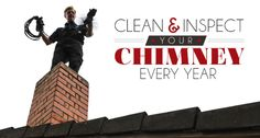 Have A Professional Inspect Your #Chimney. #HomeHeating #safety