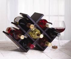 Amazon.com: Kamenstein Butterfly Wine Rack: Kitchen & Dining
